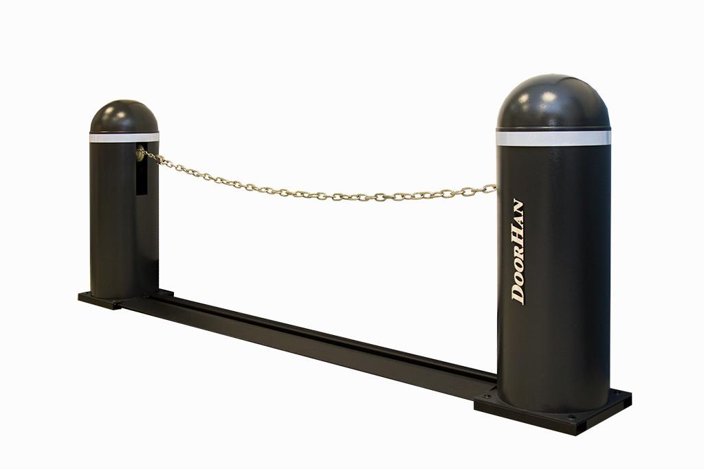 Комплект цепного шлагбаума Chain-barrier7-base , Chain-barrier15-base