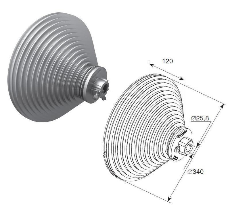 Барабан (OMI 28 VL) H=8560 мм (пара), арт.11012