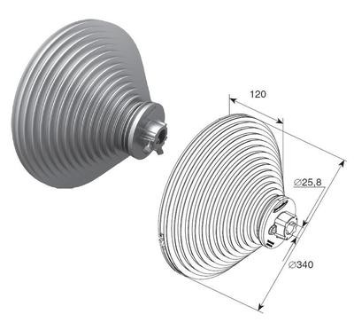 Барабан (OMI 28 VL) H=8560 мм (пара)