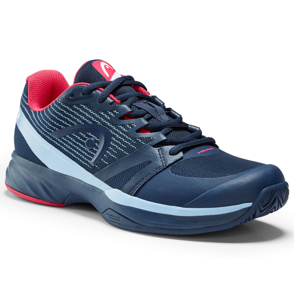 Head Sprint Pro 2.5 Ladies Tennis Shoes - Dark Blue