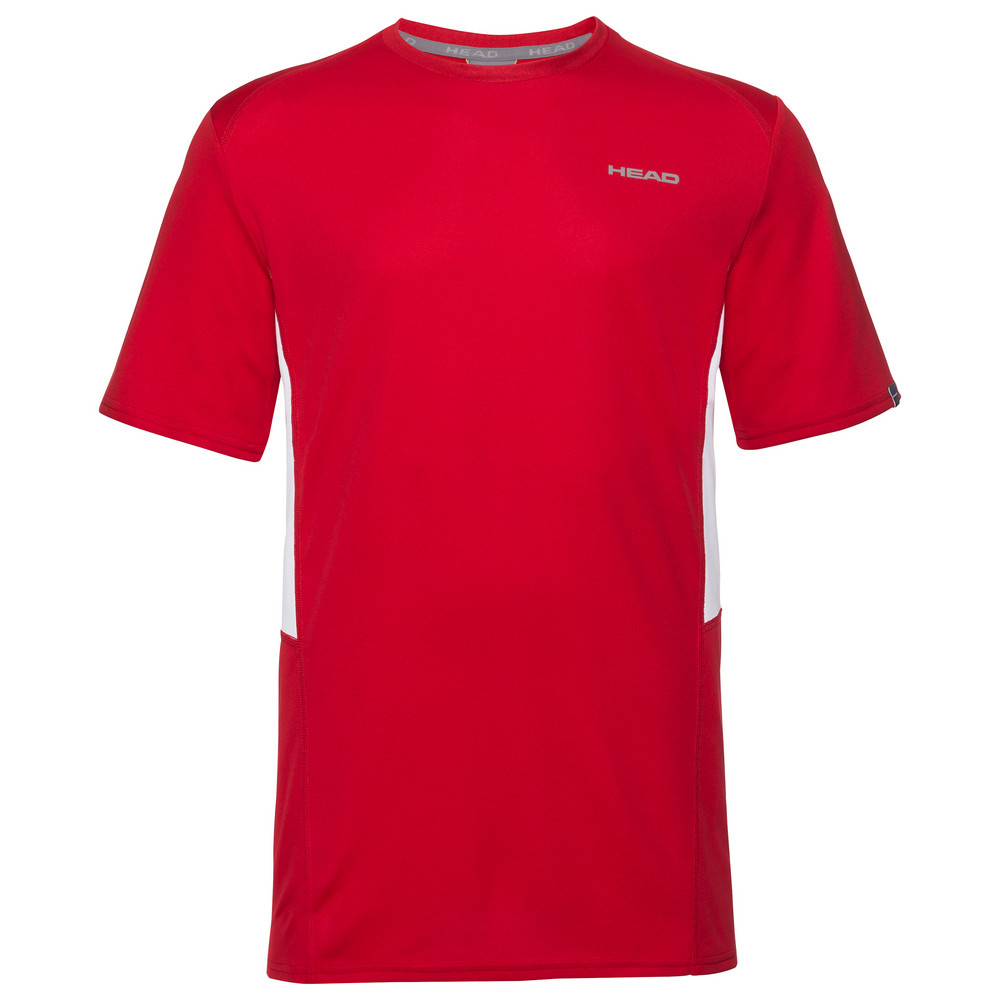 Head Boys Club Tech T-Shirt - Red