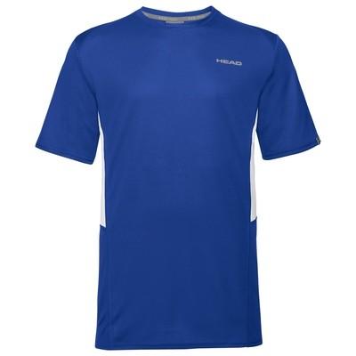 Head Boys Club Tech T-Shirt - Royal Blue