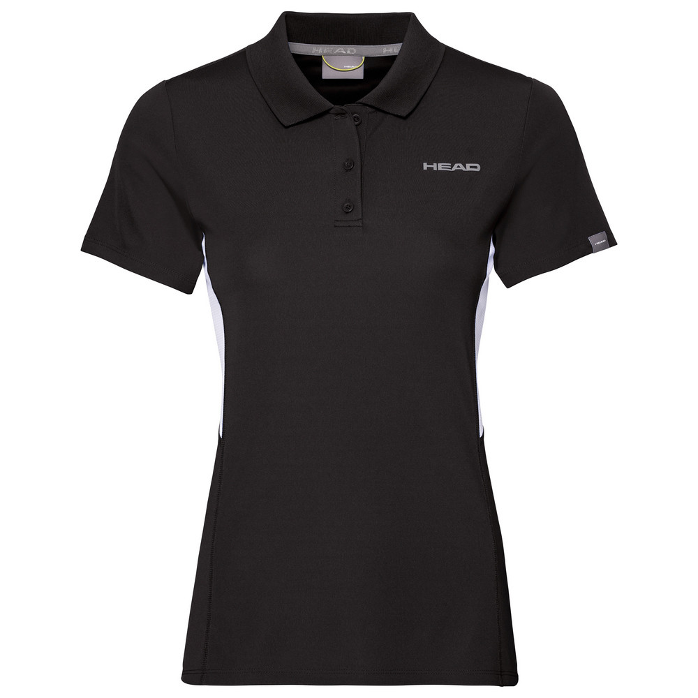 Head Girls Club Tech Polo - Black