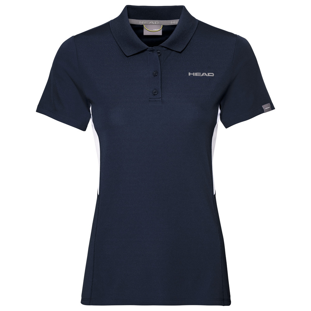 Head Girls Club Tech Polo - Navy Blue
