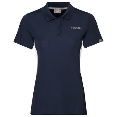 Head Girls Club Tech Polo - Navy Blue