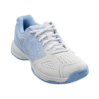 Wilson Kaos Stroke Women's Tennis Shoes - White/Blue