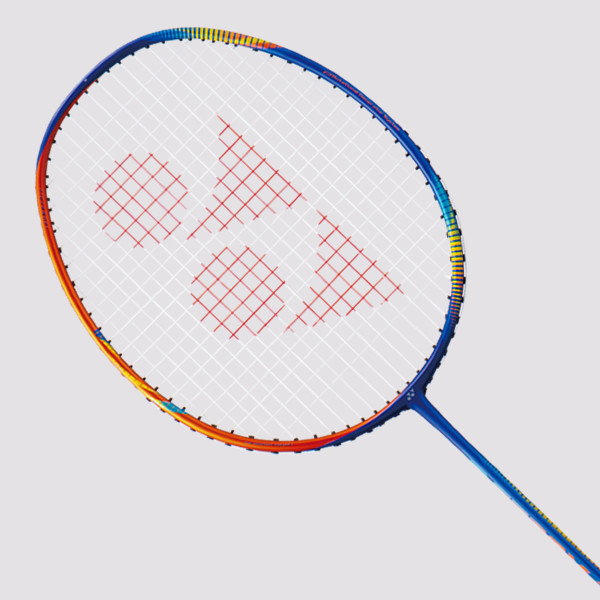 Yonex Astrox Flash Boost Badminton Racket - Navy/Orange