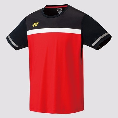 Yonex Men's Crew Neck Shirt 10284 - Fire Red
