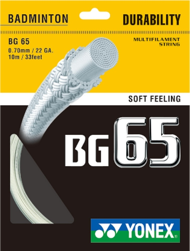 Yonex BG65 Badminton String Set