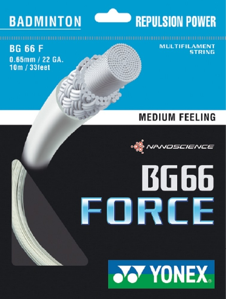 Yonex BG66 Force Badminton String Set