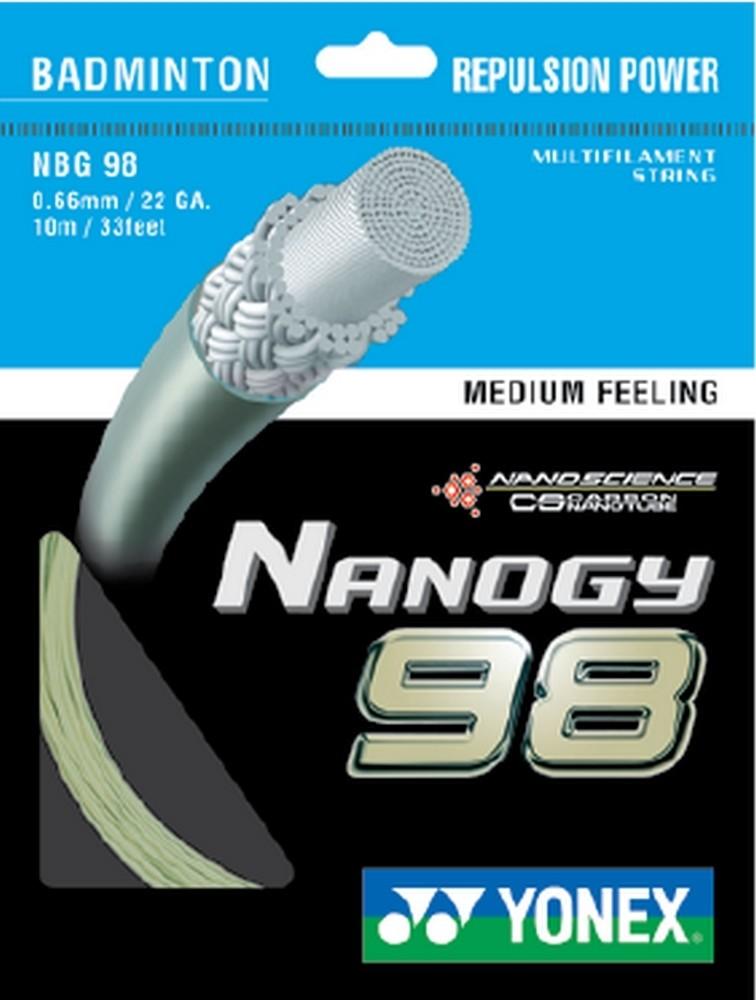 Yonex Nanogy 98 Badminton String Set