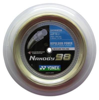 Yonex Nanogy 98 Badminton String - 200m Reel