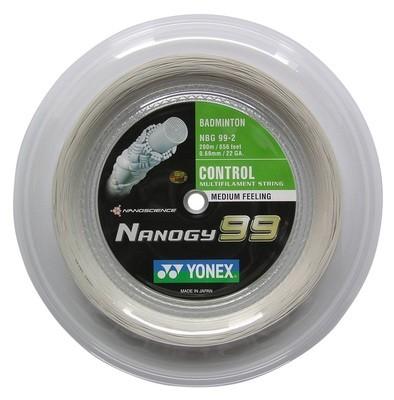 Yonex Nanogy 99 Badminton String - 200m Reel