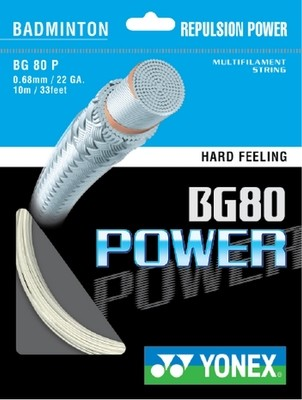 Yonex BG80 Power Badminton String Set