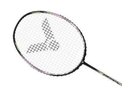 Victor Auraspeed 90S Badminton Racket - Black/Silver