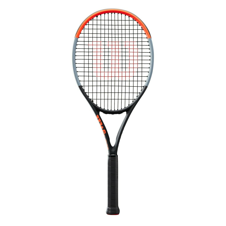 Wilson Clash 100 Tennis Racket - Black/Red