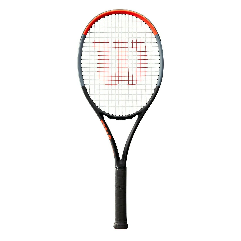Wilson Clash 98 Tennis Racket - Black/Red