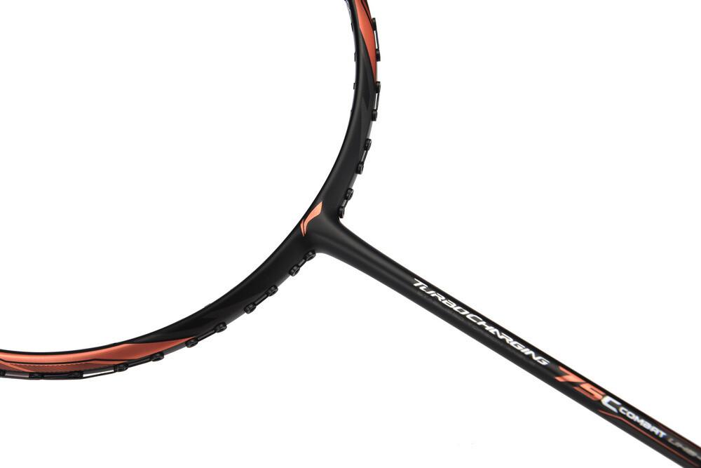 Li-ning Turbocharging 75 Combat Badminton Racket - Black