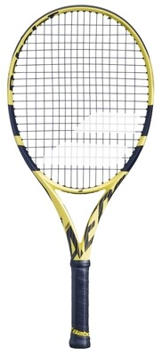 Babolat Pure Aero Junior 25 - Yellow/Black