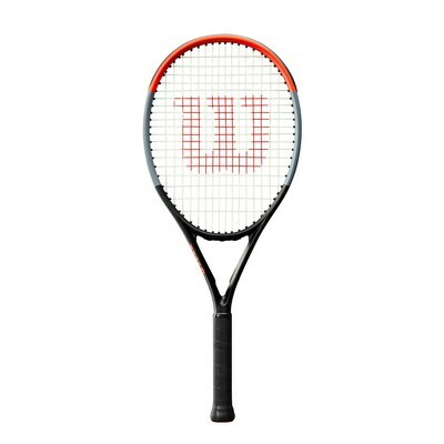 Wilson Clash 26 Junior Tennis Racket - Black/Red