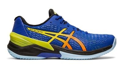 Asics Sky Elite FF Court Shoes - Blue/Yellow