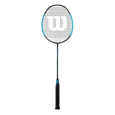 Wilson Blaze SX9900 Spider CV Badminton Racket - Black/Blue