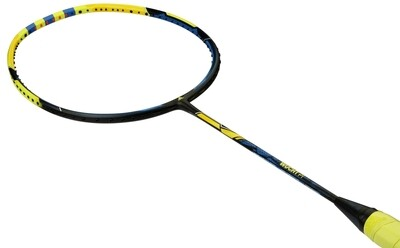 Adidas Wucht P1 Badminton Racket - Yellow/Blue