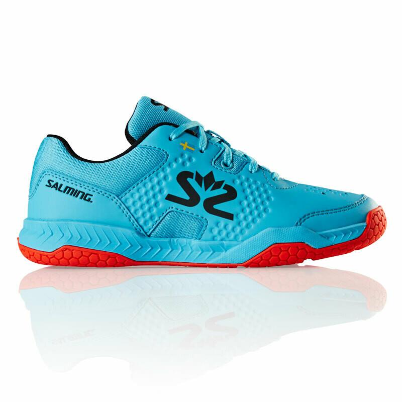 Salming Hawk Court Junior Squash Shoes - Blue