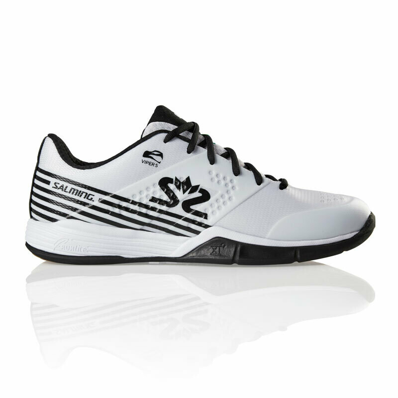 Salming Viper 5 Court Shoes - White/Black