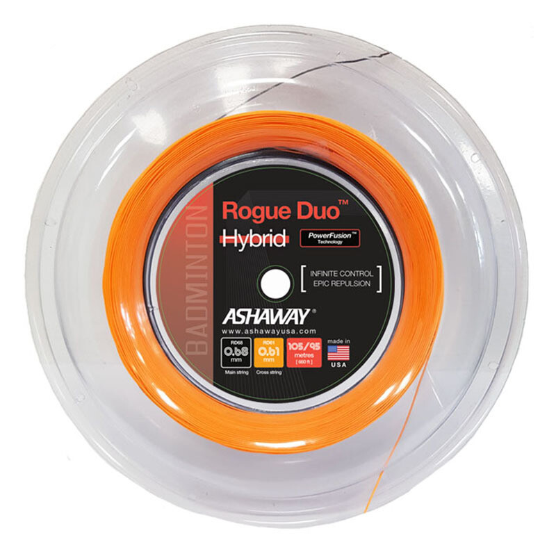 Ashaway Rogue Duo Hybrid Badminton String - 200m Reel