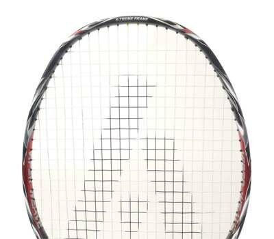 Ashaway Viper XT 7000 Badminton Racket - Black/Red