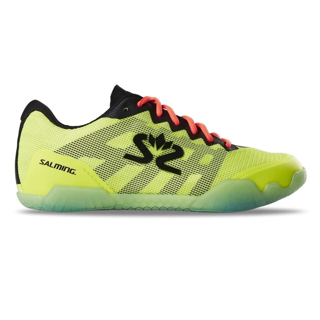 Salming Hawk Court Shoes - Safety Yellow/Black