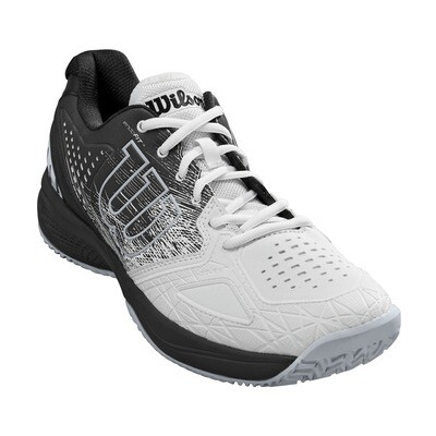 Wilson Kaos Comp 2.0 Men's Tennis Shoes - White/Black