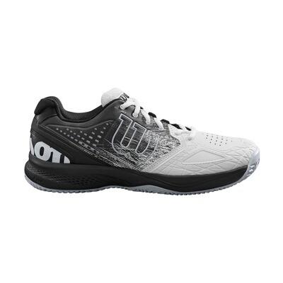 Wilson Kaos Comp 2.0 Men's Tennis Shoes - White/Black