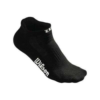Wilson Ladies No Show Socks Black - 3 Pairs