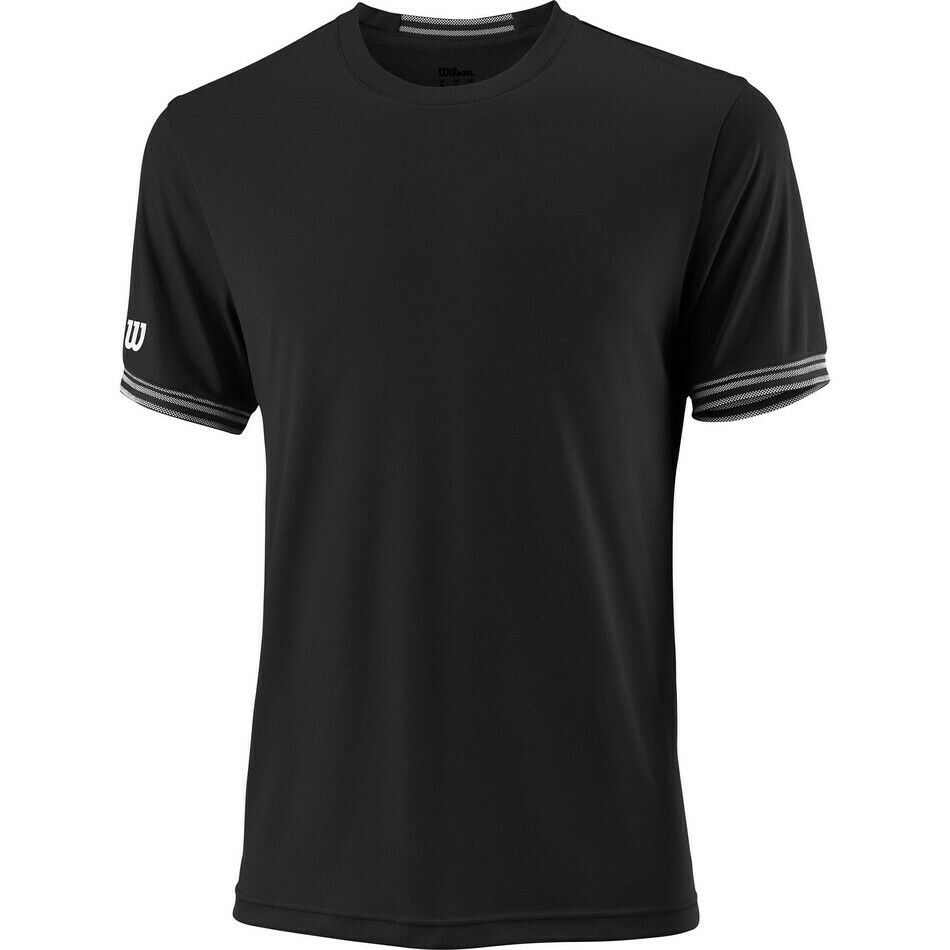 Wilson Mens Team Solid Crew - Black