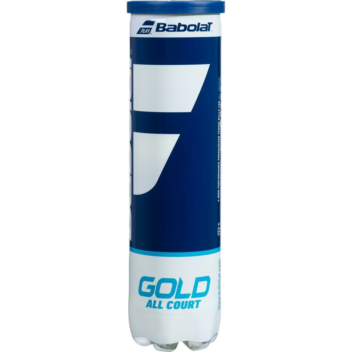 Babolat Gold Tennis Balls - 4 Ball Can