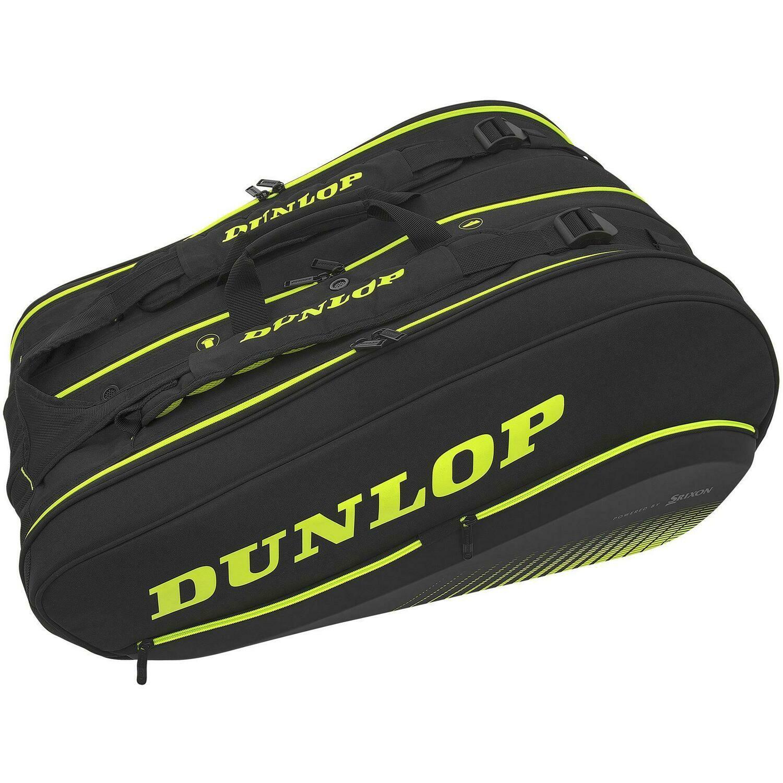 Dunlop SX Performance Thermo 12 Racket Bag - Black