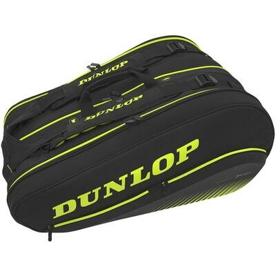 Dunlop SX Performance Thermo 12 Racket Bag Yellow/Black