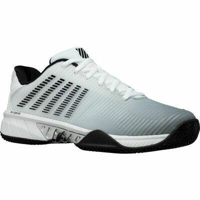 K-Swiss Hypercourt Express 2 HB Court Shoes - White/High Rise/Black