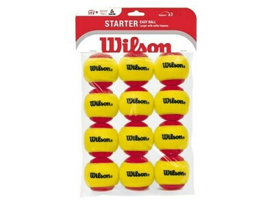 Wilson Starter Red Tennis Balls - 12 Pack