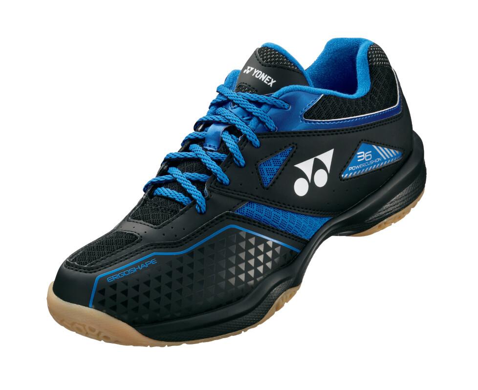 Yonex Power Cushion 36 Badminton Shoes - Black