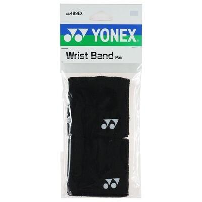 Yonex Wrist Bands Pair - Black
