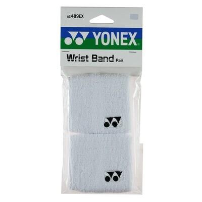 Yonex Wrist Bands Pair - White