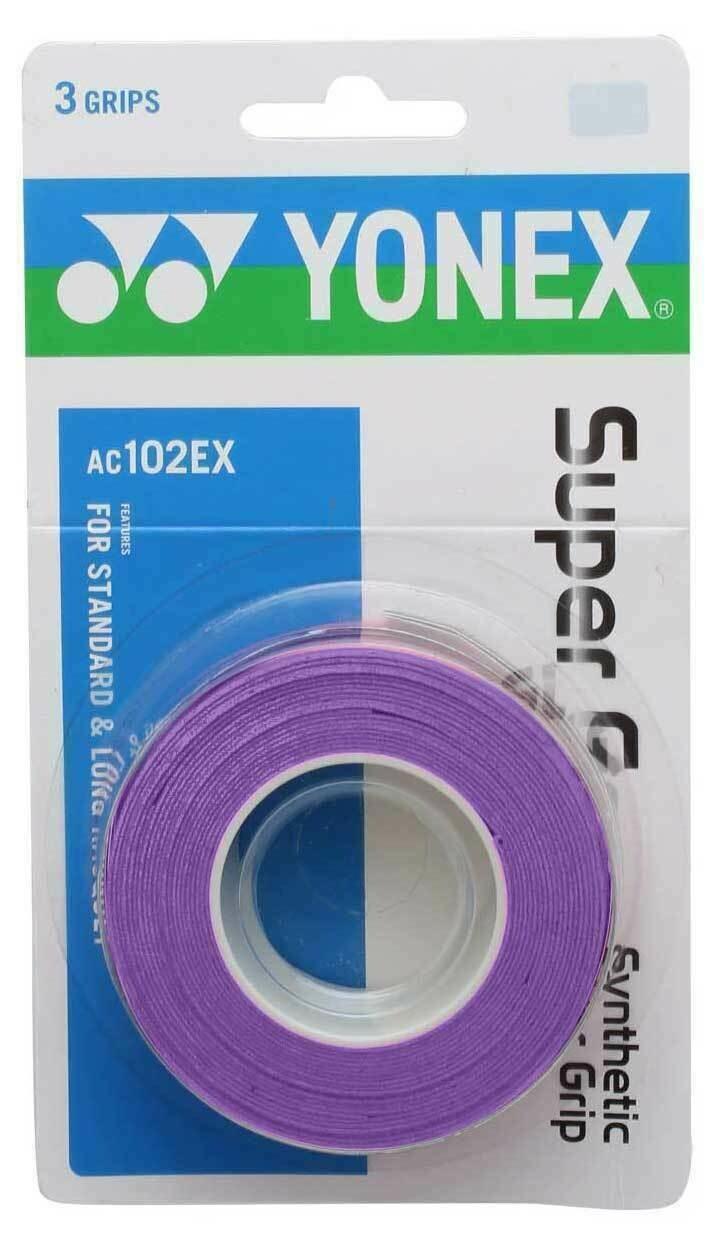 Yonex Super Grap Purple - 3 Pack