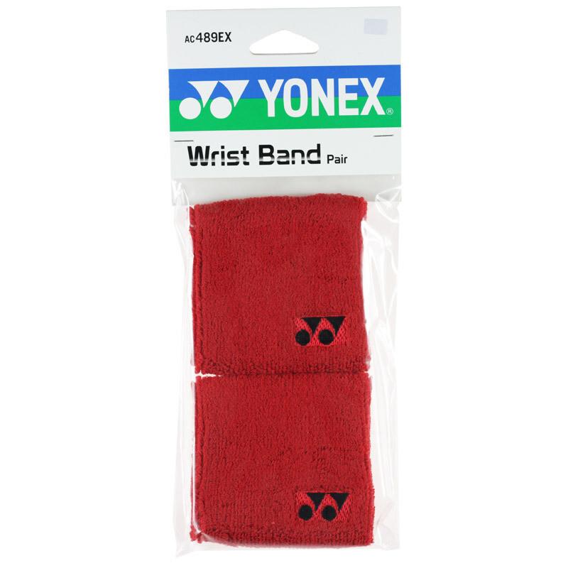 Yonex Wrist Bands Pair - Red