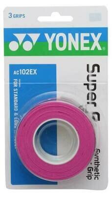 Yonex Super Grap Pink - 3 Pack