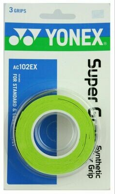 Yonex Super Grap Green - 3 Pack
