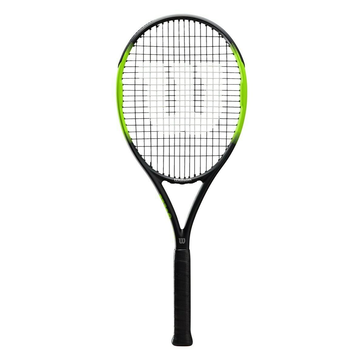 Wilson Blade Feel 105 Tennis Racket - Black/Green