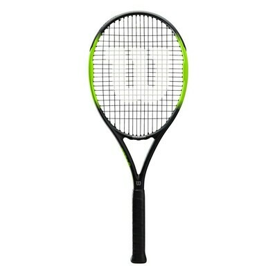 Wilson Blade Feel 105 Tennis Racket - Black/Green